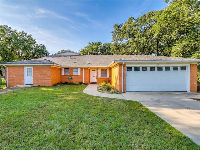 615 W Hillcrest Street, Keene, TX 76059 (MLS #14169975) :: Lynn Wilson with Keller Williams DFW/Southlake
