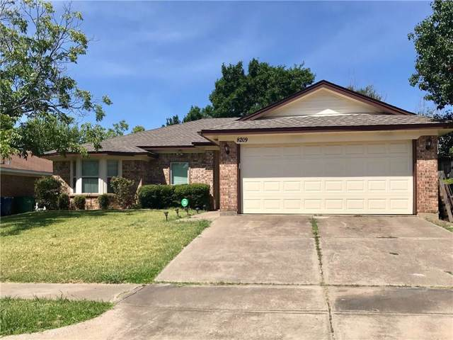 8209 Meadowbrook Drive, Watauga, TX 76148 (MLS #14170147) :: Vibrant Real Estate