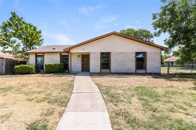 5807 Mimosa Lane, Rowlett, TX 75089 (MLS #14170179) :: Kimberly Davis & Associates