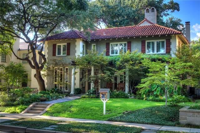 4404 Edmondson Avenue, Highland Park, TX 75205 (MLS #14170341) :: Roberts Real Estate Group