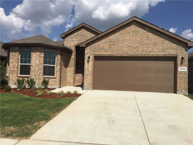 9508 Blaine Drive, Fort Worth, TX 76177 (MLS #14170345) :: Roberts Real Estate Group