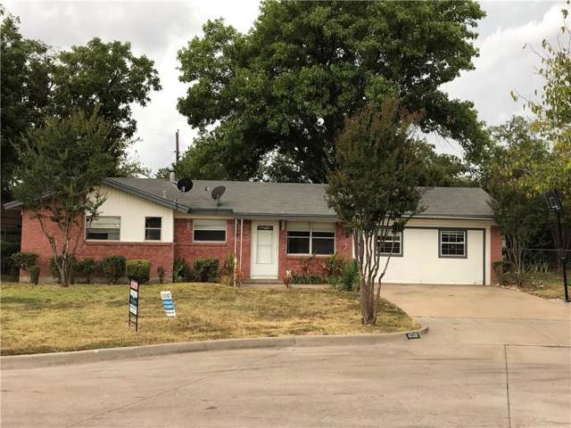 6508 Tina Court, Forest Hill, TX 76140 (MLS #14170403) :: RE/MAX Town & Country