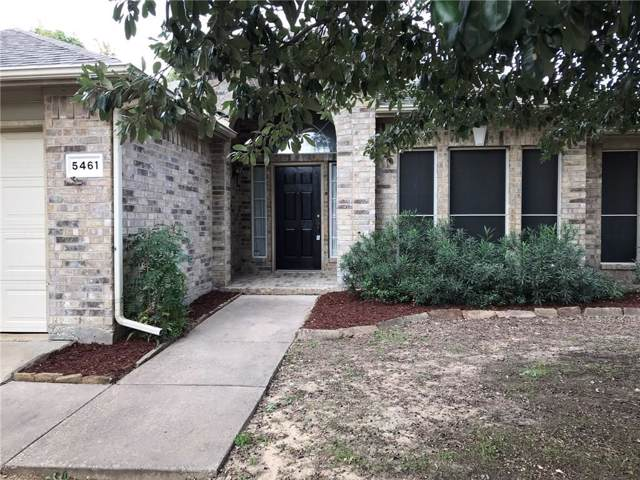 5461 Glen Canyon Road, Fort Worth, TX 76137 (MLS #14170437) :: Real Estate By Design