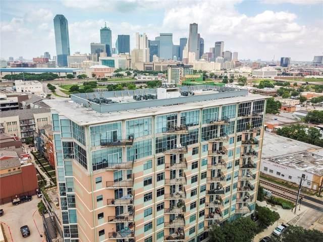 1001 Belleview Street #603, Dallas, TX 75215 (MLS #14170523) :: The Hornburg Real Estate Group