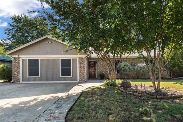 6315 Hidden Springs Drive, Arlington, TX 76001 (MLS #14170863) :: The Rhodes Team