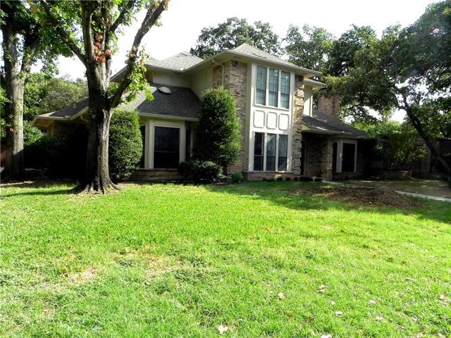 909 Oak Creek Estates Drive, Lewisville, TX 75067 (MLS #14170882) :: The Rhodes Team