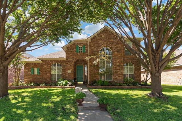 430 Shady Valley Drive, Allen, TX 75002 (MLS #14170992) :: The Good Home Team