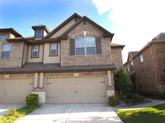 4772 Bridgewater Street, Plano, TX 75074 (MLS #14171280) :: The Star Team | JP & Associates Realtors