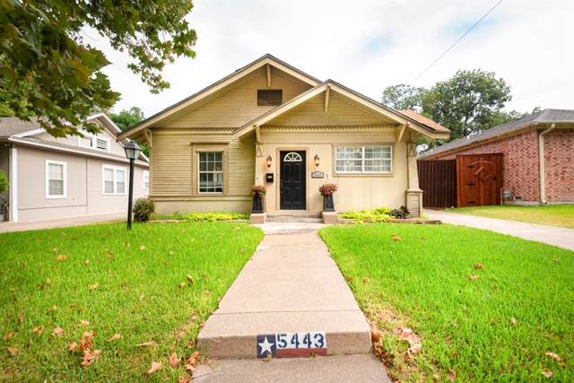 5443 Belmont Avenue, Dallas, TX 75206 (MLS #14171540) :: The Real Estate Station