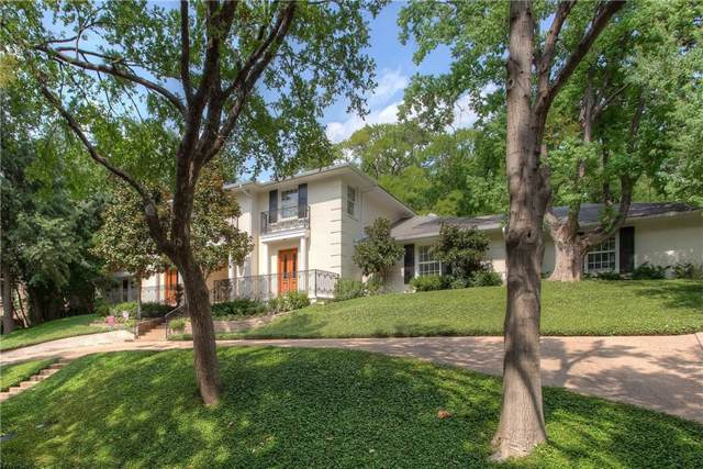2205 Hidden Creek Road, Westover Hills, TX 76107 (MLS #14172166) :: The Mitchell Group