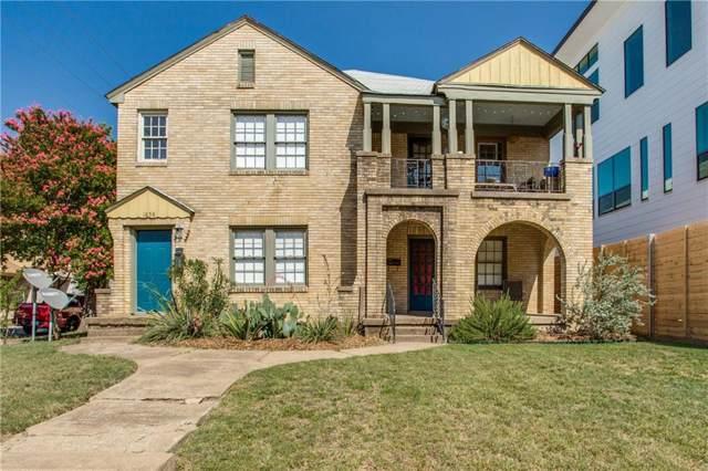 1856 Euclid Avenue, Dallas, TX 75206 (MLS #14172271) :: RE/MAX Landmark