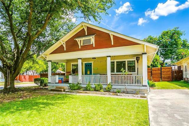 2201 Fairmount Avenue, Fort Worth, TX 76110 (MLS #14172283) :: The Real Estate Station