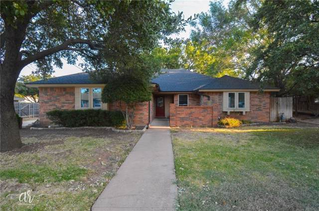 3041 Gilmer Avenue, Abilene, TX 79606 (MLS #14172416) :: The Good Home Team