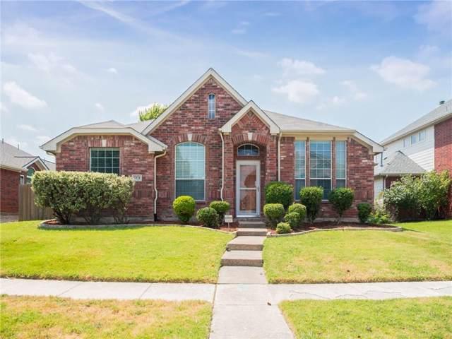 5521 Rockwood Drive, The Colony, TX 75056 (MLS #14172465) :: Kimberly Davis & Associates