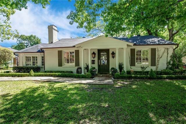 312 Eastwood Avenue, Fort Worth, TX 76107 (MLS #14172694) :: The Real Estate Station