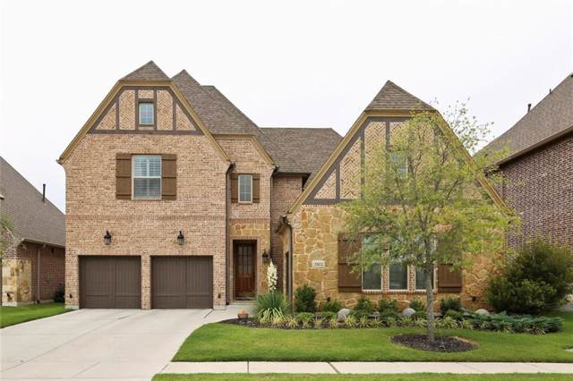 7812 Ivey, The Colony, TX 75056 (MLS #14172807) :: The Real Estate Station