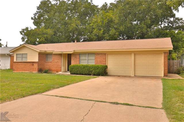 1826 Minter Lane, Abilene, TX 79603 (MLS #14172809) :: Team Hodnett