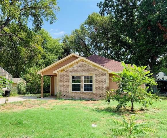 230 Chandler Street, Wilmer, TX 75172 (MLS #14172992) :: The Heyl Group at Keller Williams