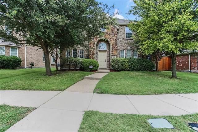 11930 Gonzales Drive, Frisco, TX 75035 (MLS #14173354) :: The Good Home Team