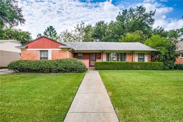 3632 Ingleside Drive, Dallas, TX 75229 (MLS #14173363) :: Trinity Premier Properties