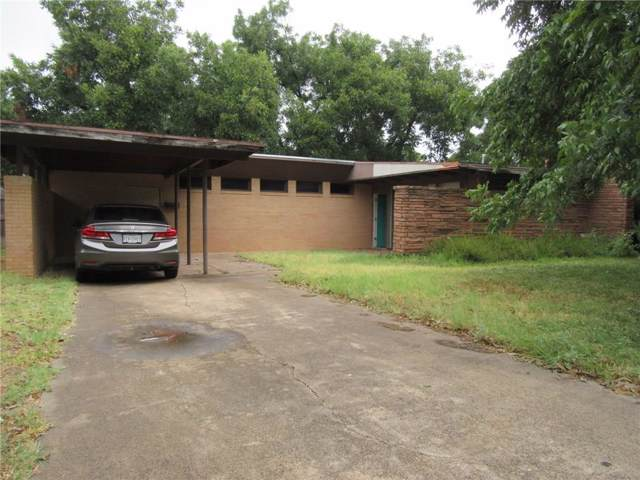 2326 Cooke Street, Abilene, TX 79605 (MLS #14173387) :: The Good Home Team