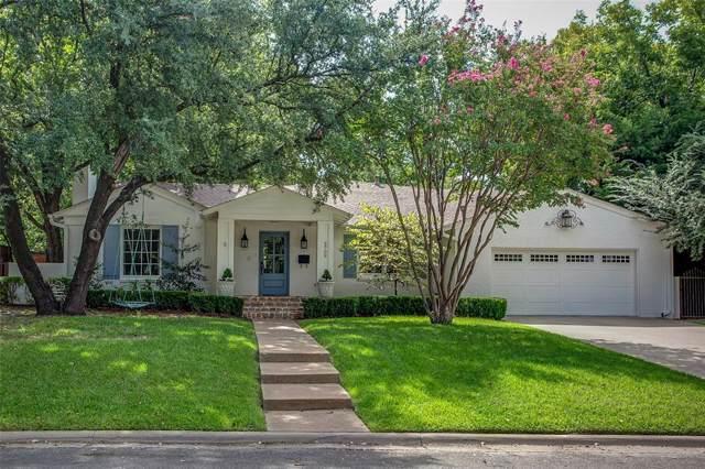 3709 Sherwood Avenue, Fort Worth, TX 76107 (MLS #14173719) :: The Tierny Jordan Network