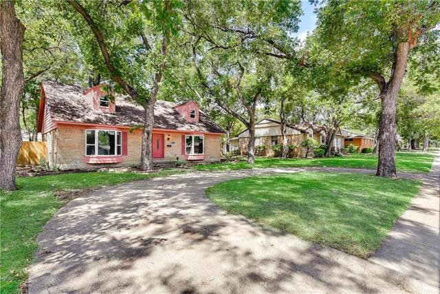 3435 Boulder Drive, Dallas, TX 75233 (MLS #14173822) :: Kimberly Davis & Associates