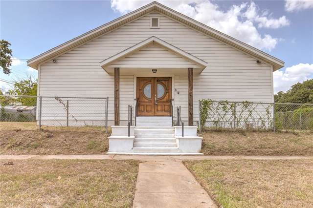 321 E Central Avenue, Fort Worth, TX 76164 (MLS #14173832) :: RE/MAX Town & Country