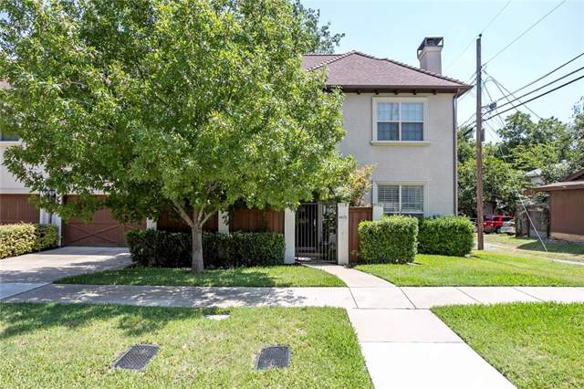 605 Montgomery Street, Fort Worth, TX 76107 (MLS #14174119) :: The Mitchell Group