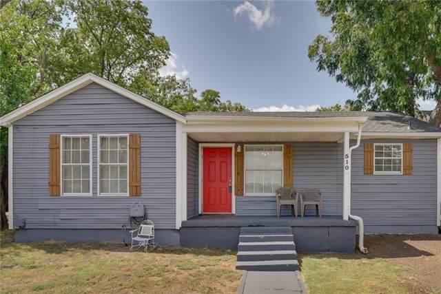 510 Echols Street, Arlington, TX 76011 (MLS #14174271) :: The Heyl Group at Keller Williams