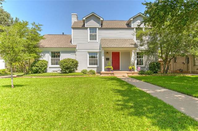 3618 S Hills Avenue, Fort Worth, TX 76109 (MLS #14174366) :: All Cities Realty