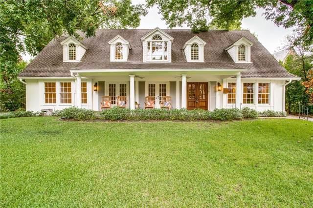 5570 Nakoma Drive, Dallas, TX 75209 (MLS #14174495) :: Baldree Home Team