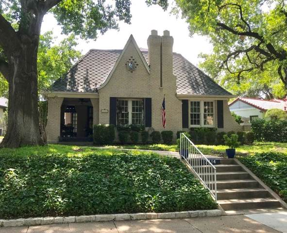 2414 Stadium Drive, Fort Worth, TX 76109 (MLS #14174566) :: Frankie Arthur Real Estate