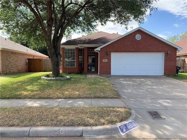 8916 San Joaquin Trail, Fort Worth, TX 76118 (MLS #14174854) :: RE/MAX Town & Country