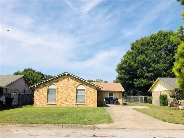 3900 Clotell Drive, Fort Worth, TX 76119 (MLS #14174972) :: Kimberly Davis & Associates