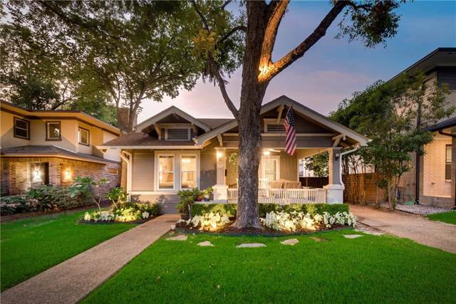 5527 Vickery Boulevard, Dallas, TX 75206 (MLS #14175090) :: The Real Estate Station