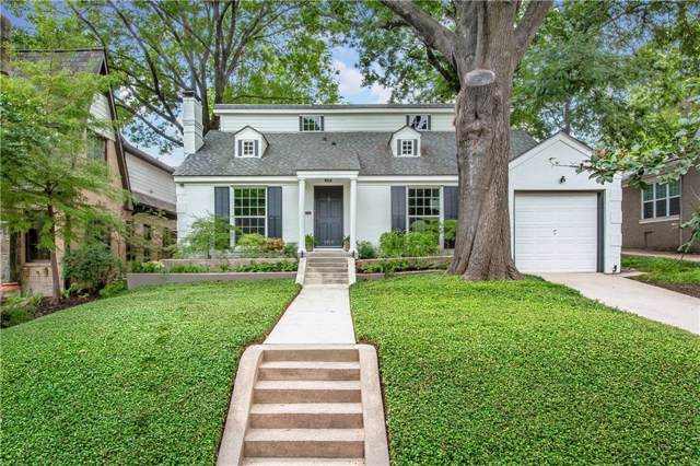 6914 Pasadena Avenue, Dallas, TX 75214 (MLS #14175147) :: RE/MAX Town & Country