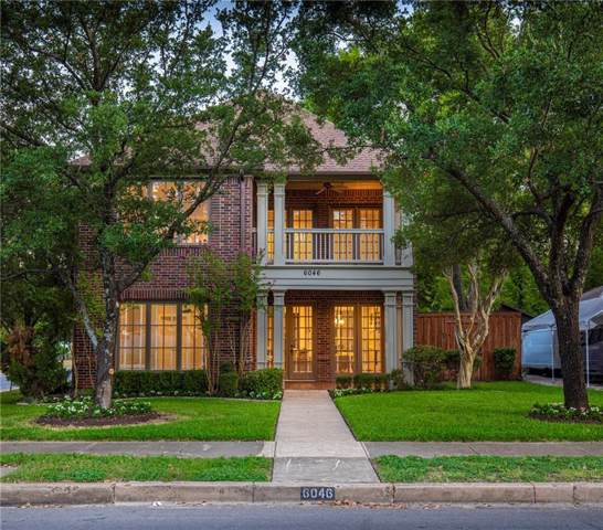 6046 Llano Avenue, Dallas, TX 75206 (MLS #14175449) :: The Heyl Group at Keller Williams