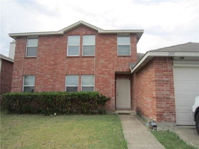 2051 Hopi Trail, Grand Prairie, TX 75052 (MLS #14175540) :: The Tierny Jordan Network