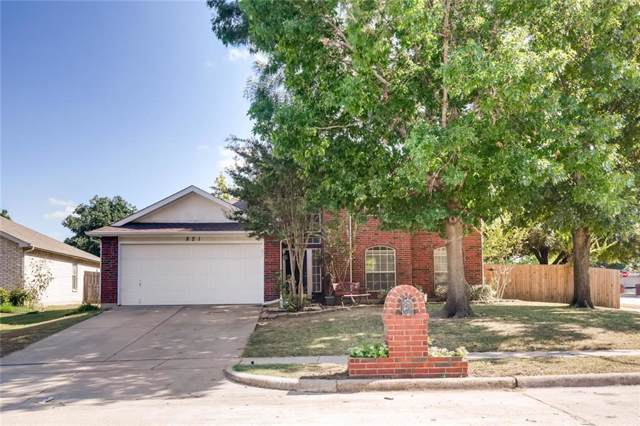 821 Atchison Drive, Saginaw, TX 76131 (MLS #14175776) :: RE/MAX Town & Country