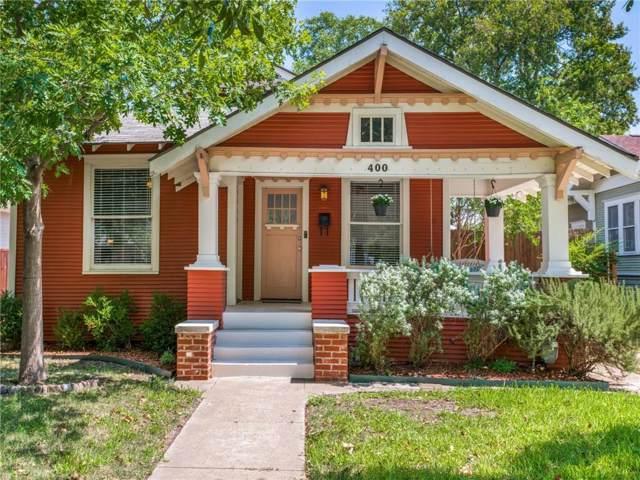 400 S Willomet Avenue, Dallas, TX 75208 (MLS #14175954) :: All Cities Realty