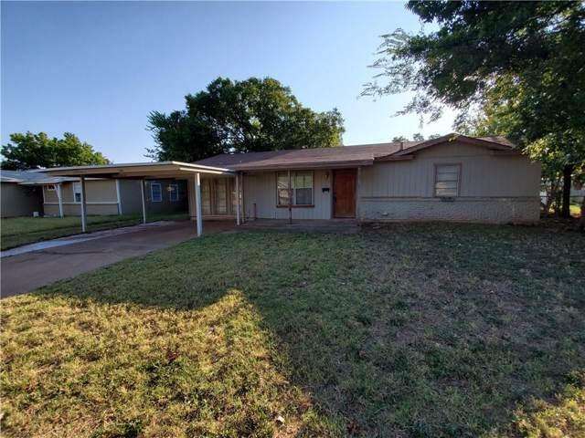 2317 Yorktown Drive, Abilene, TX 79603 (MLS #14175977) :: RE/MAX Town & Country