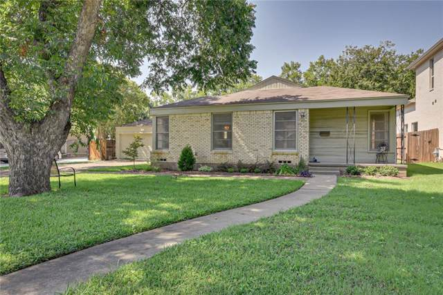 3613 Brighton Road, Fort Worth, TX 76109 (MLS #14176303) :: The Heyl Group at Keller Williams