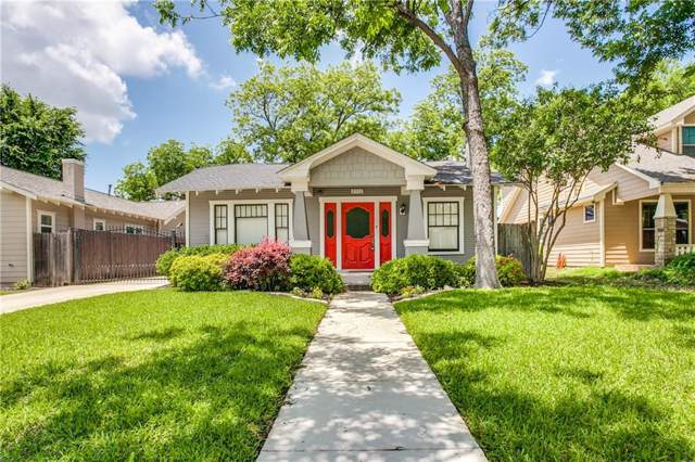 2112 Western Avenue, Fort Worth, TX 76107 (MLS #14176373) :: Lynn Wilson with Keller Williams DFW/Southlake