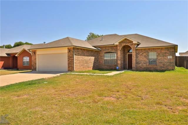 3033 Sterling Street, Abilene, TX 79606 (MLS #14176385) :: The Tierny Jordan Network