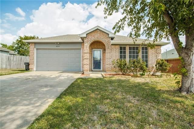 4828 Deal Drive, Fort Worth, TX 76135 (MLS #14176532) :: Lynn Wilson with Keller Williams DFW/Southlake