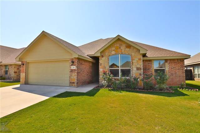 349 Southlake Drive, Abilene, TX 79602 (MLS #14176698) :: The Real Estate Station