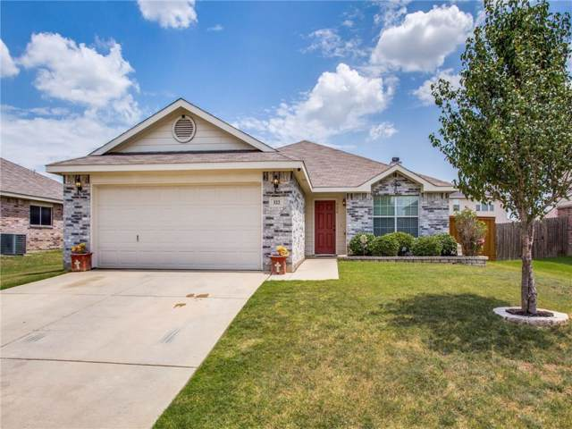 322 Chisholm Trail, Krum, TX 76249 (MLS #14176939) :: The Heyl Group at Keller Williams