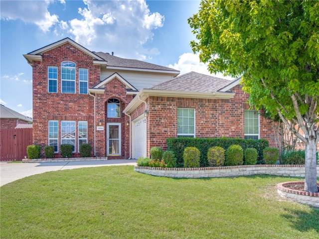 11859 Chaparral Drive, Frisco, TX 75035 (MLS #14177125) :: RE/MAX Town & Country