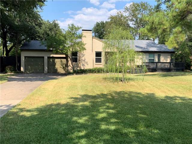 3939 Van Ness Lane, Dallas, TX 75220 (MLS #14177127) :: Van Poole Properties Group